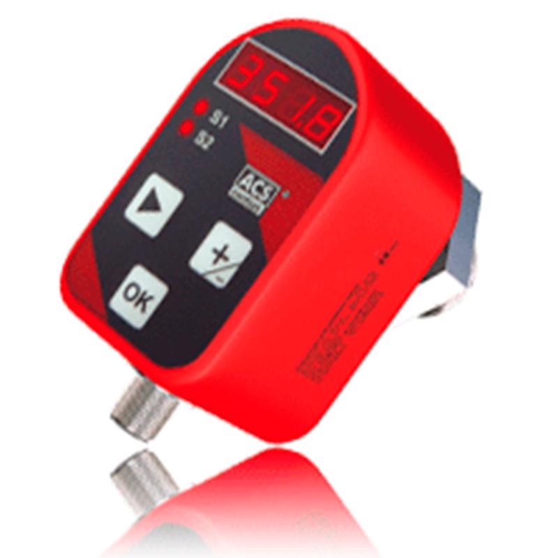 Precont® S10. Con pantalla LED y 2 salidas de conmutación PNP